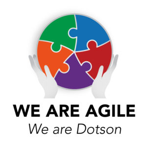 we are agile, we are Dotson
