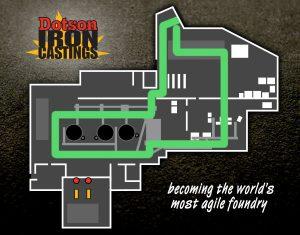 dotson foundry tour map